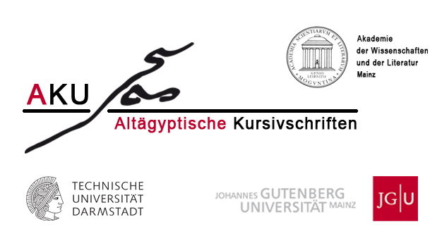 Akademieprojekt: Altägyptische Kursivschriften